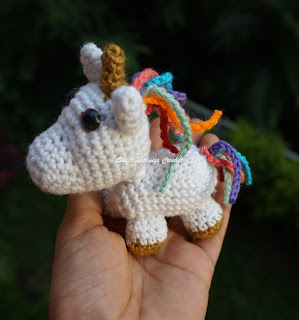 free crochet stuff toy, free crochet unicorn amigurumi