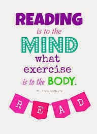 Reading is to the MIND...