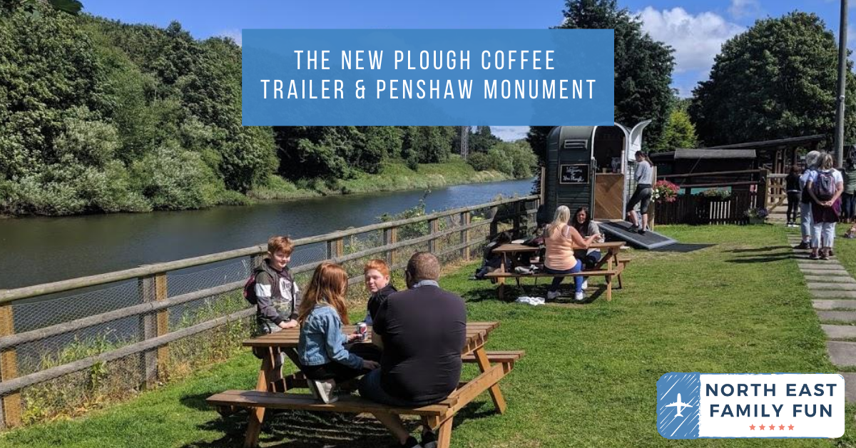 The New Plough Coffee Trailer & Penshaw Monument