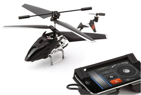 iPhone iPad controlled helicopter