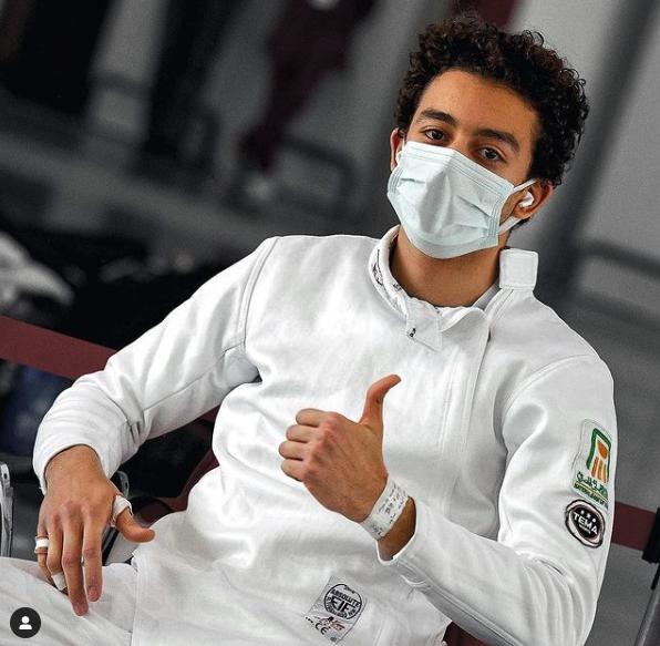 Mohamed El Sayed conquista vaga olímpica para Egito na Esgrima