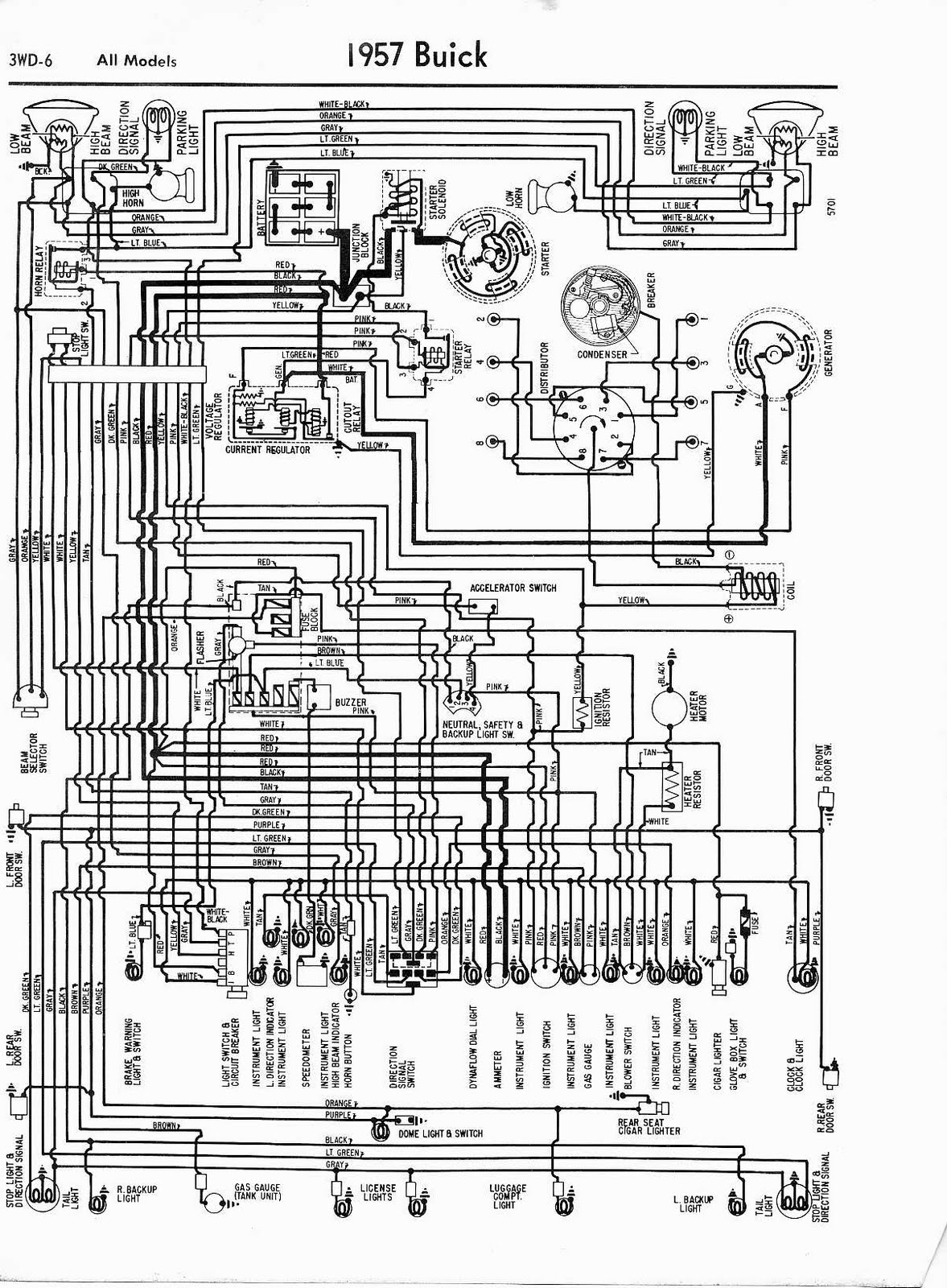 ford wiring diagrams free wiring diagrams weebly com buick wiring diagrams free free auto wiring diagram: 1957 buick all models wiring diagram #11