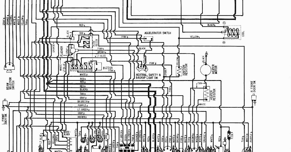 Starting Circuit Diagram For The 1955 Plymouth All Models