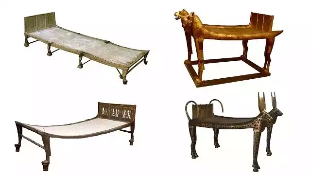 Ancient Egyptian Beds