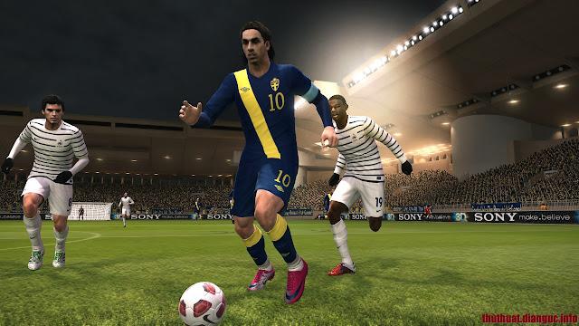 Download game PES 2011 Full crack - Pro Evolution Soccer 2011 RELOADED