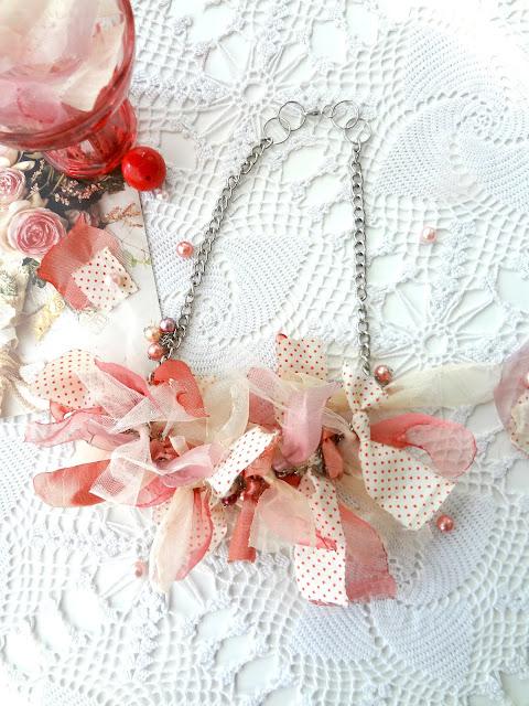 DIY Boho Rag Necklace