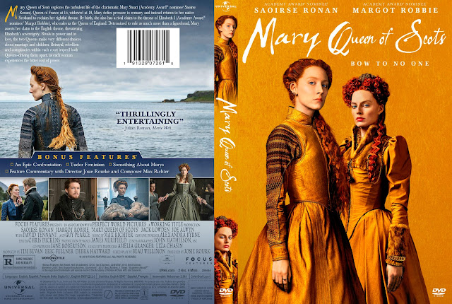 Mary Queen of Scots Bluray Cover