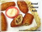 Fried BreadCheese Rolls