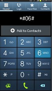 Dial this code for finding the IMEI number of ypor mobile