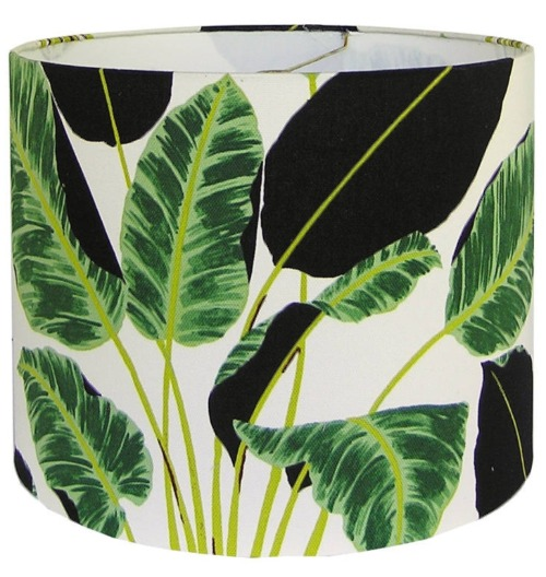 Tropical Leaf Lampshades