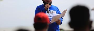 Bakti Sosial DPDN KNPI Kalimantan Utara di Pantai Amal Lama