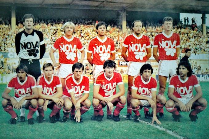F.C ROUEN 1983-84. By Panini.