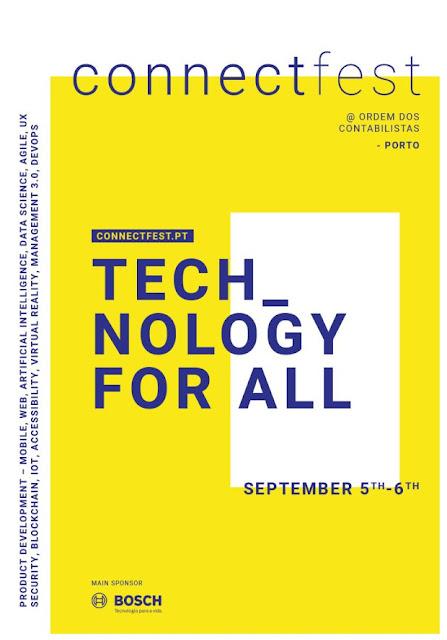 Principais tendências mundiais da tecnologia chegam ao Porto com o Connect Fest