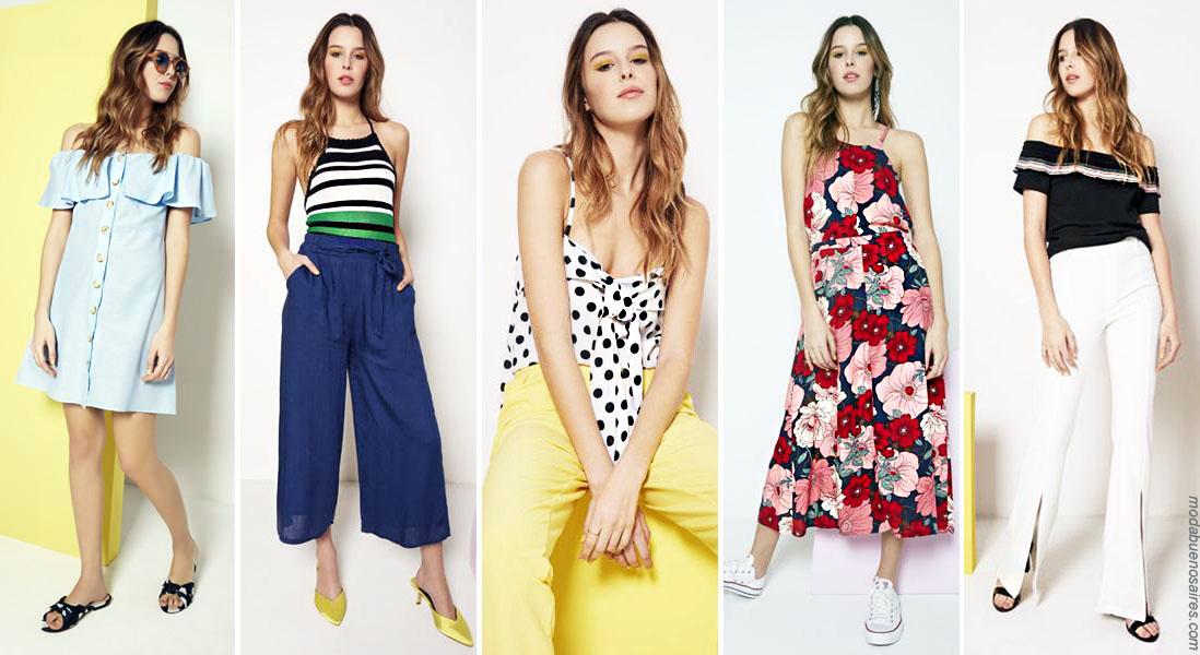 Vestidos moda 2019 verano