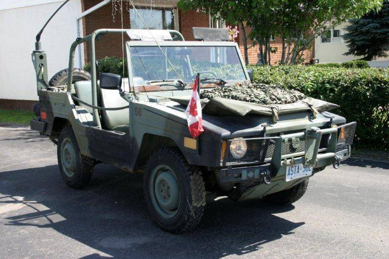 Tow N Go >> Camping Canadian: The Bombardier Iltis - the perfect exploring vehicle