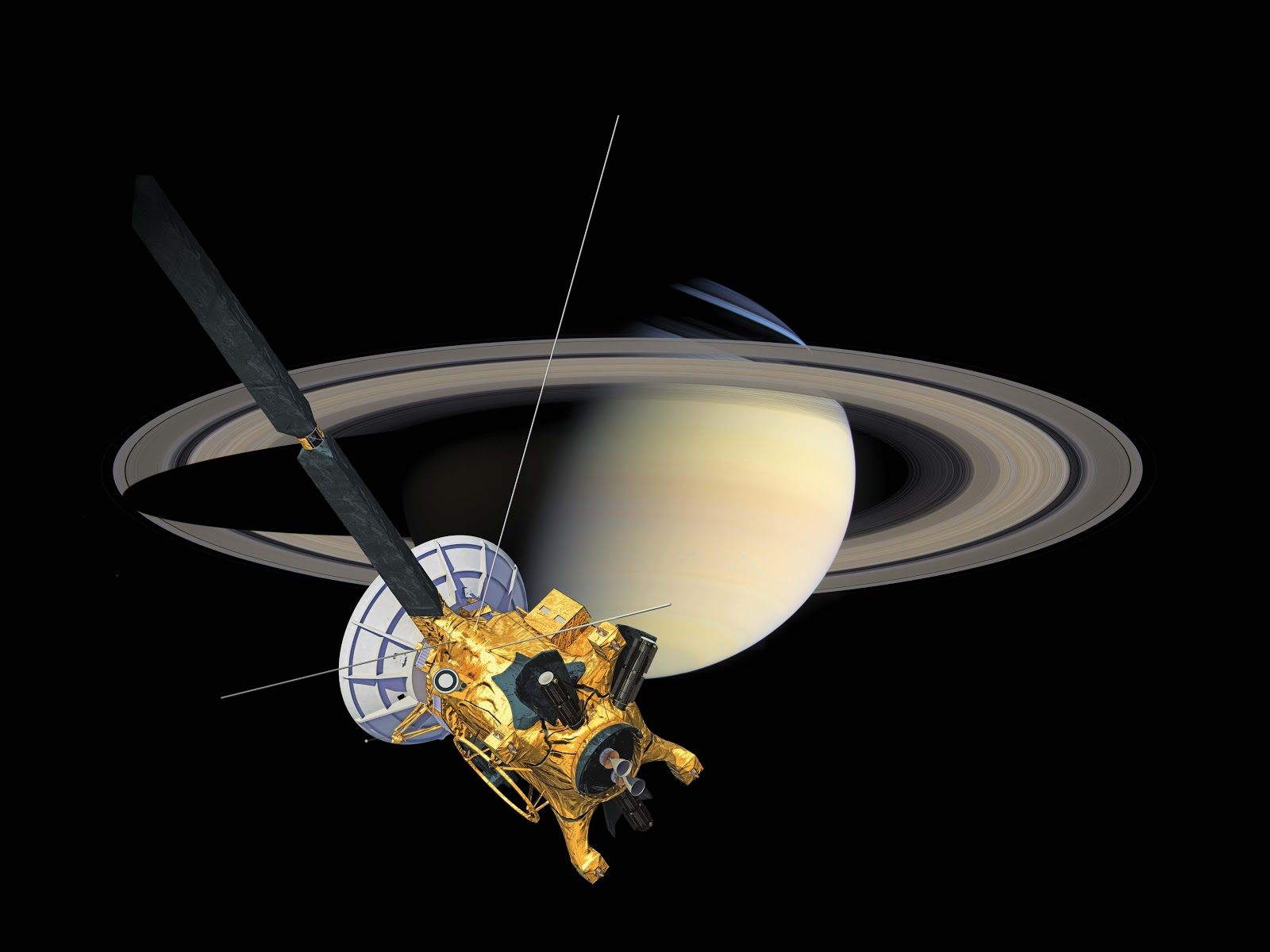 Orbiter.ch Space News: From Cassini for the Holidays: A ...