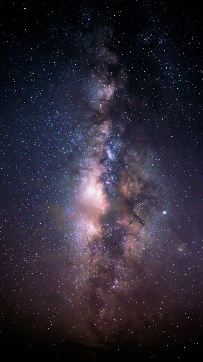 Galaxia iphone Wallpaper
