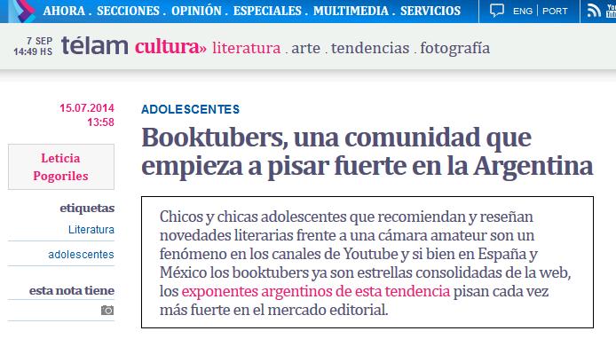 http://www.telam.com.ar/notas/201407/71128-booktubers-comunidad-adolescentes-literatura.html