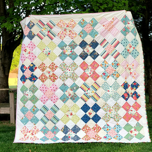Strawberry Jam – Honey Quilt designed by Jessica Dayon for Riley Blake Designs