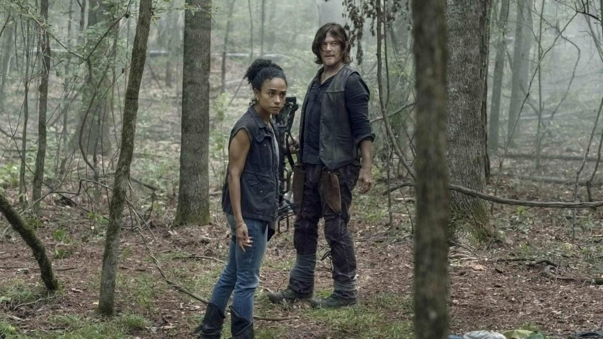 Daryl y Connie, en el episodio 10x05 de The Walking Dead