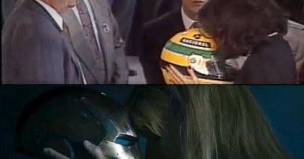 Não Importa O Que Você Seja Quem Ayrton Senna: KASSIO CAVALCANTE: Ayrton Senna E Homem De Ferro
