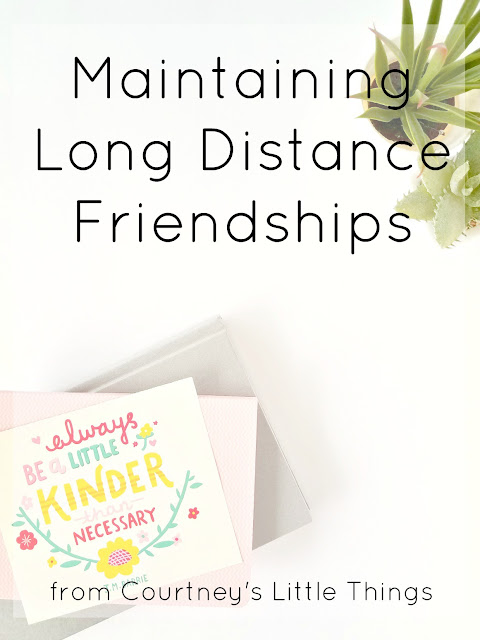5 Ways to Keep Long Distance Friendships Alive