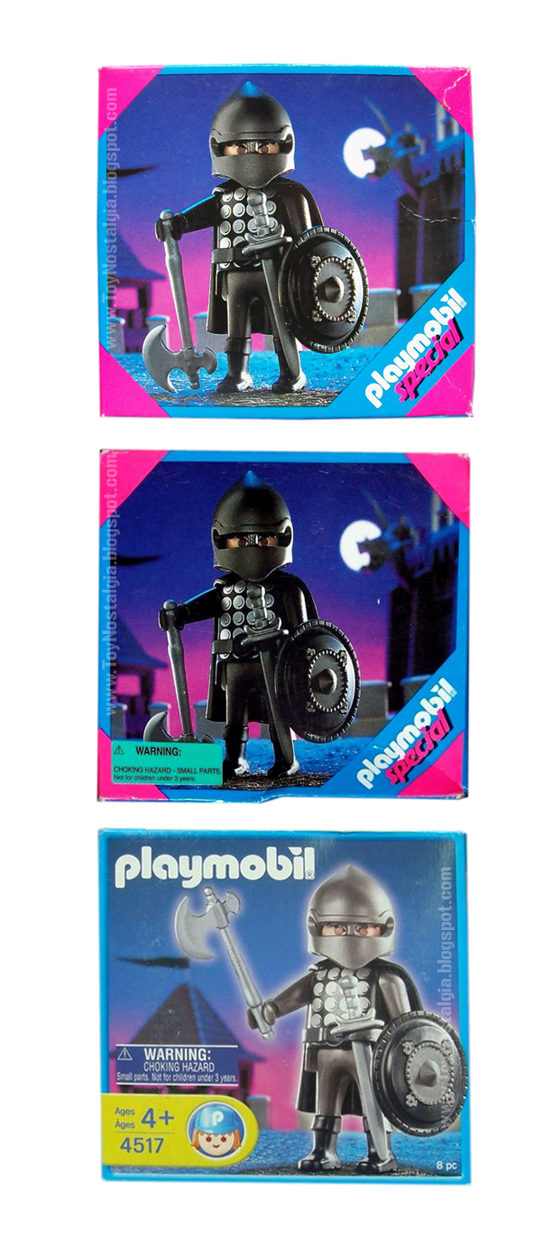 Playmobil 4517 Black Knight USA Choking Hazard