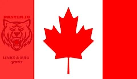 Canada iptv lists m3u files daily