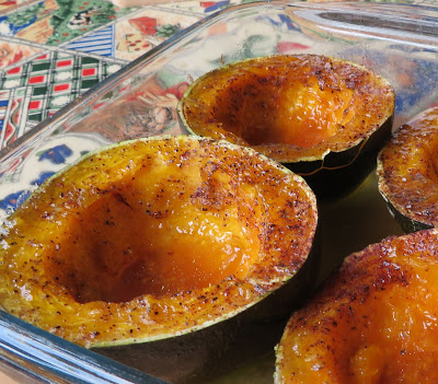 Maple & Butter Baked Squash