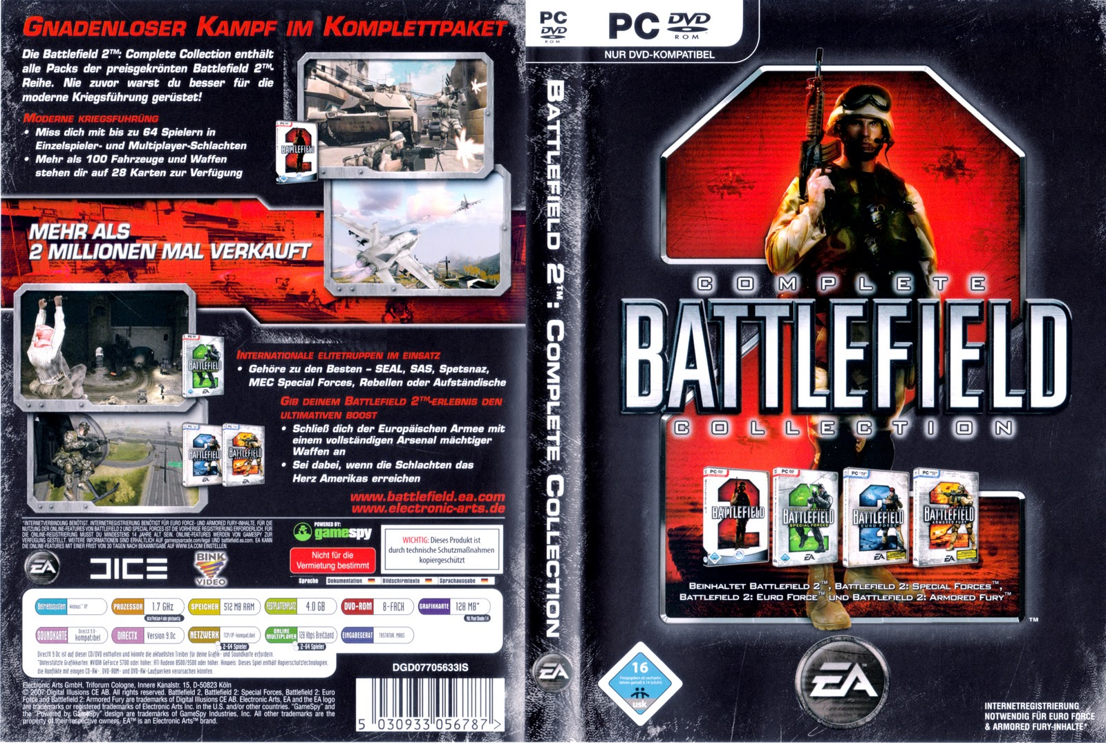 Battlefield 2 complete collection pc download
