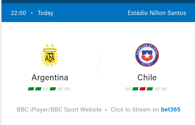 Argentina vs Chile Preview and Predictions 2021