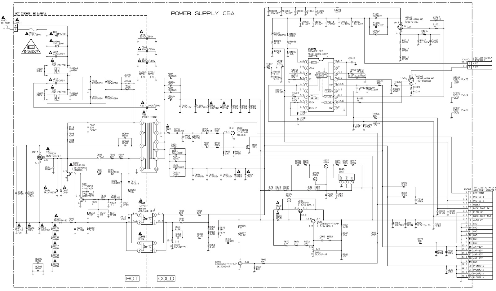 hight resolution of type 2 pwb and schematic