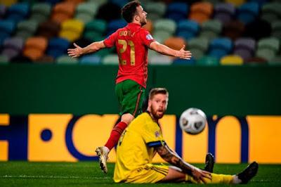 ملخص واهداف مباراة البرتغال والسويد (3-0) دوري الامم الاوروبية