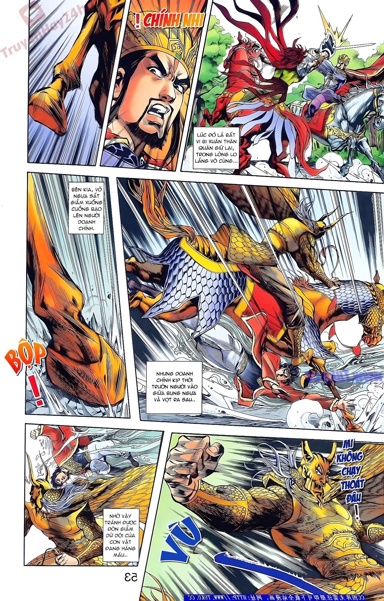 Tần Vương Doanh Chính chapter 49 trang 7