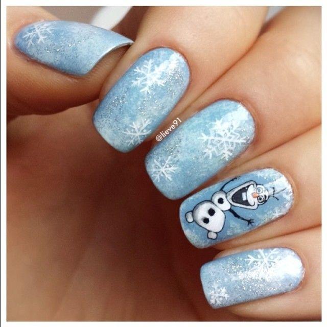 Diseño de Uñas Frozen   Disney Nail Art - Ideal para ...