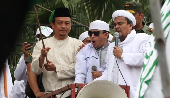 Anggota FPI Baiat ke ISIS, Habib Rizieq: Haram Satu Peluru Umat Islam Ditujukan ke Saudara Muslimnya!
