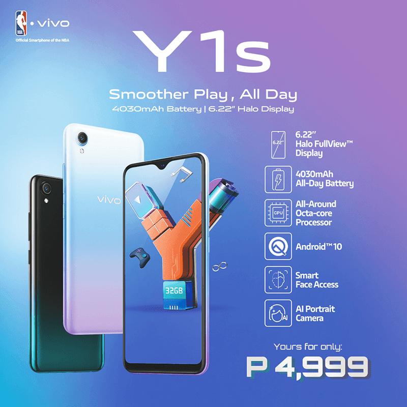 vivo Y1s price in the Philippines