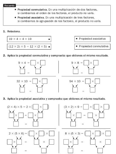 Primaria: nivelación matemáticas grado cuarto
