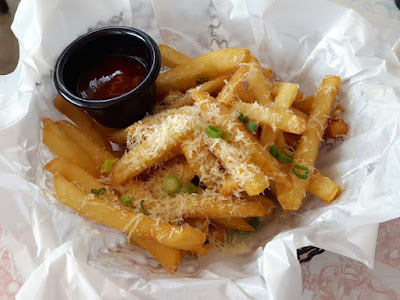 Cheesy Fries at Superheroes Cafe at Marina Bay Sands