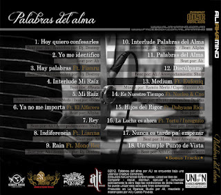 Ali aka Mind , rap colombaino , hip hop sudamericano, Descarga de cds gratis