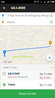 cara order gojek