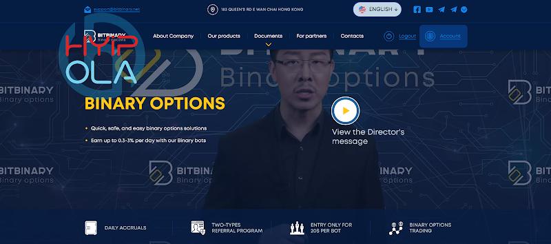 [SCAM] Review Bitbinary - Dự án dài hạn đến từ Hong Kong kết hợp đầu tư thu lãi và Binary Option