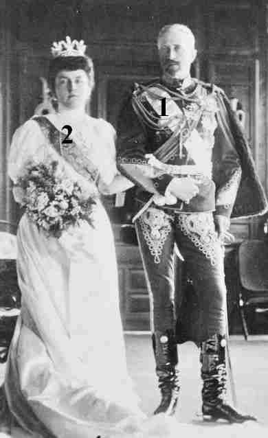 Grand Duke Nicholas Nikolaevich of Russia-Princess Anastasia of Montenegro