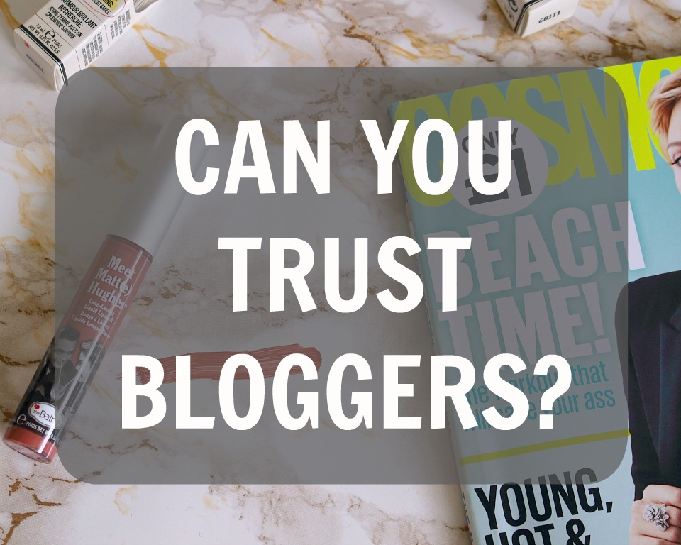 Can You Trust Bloggers
