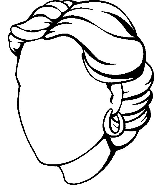 face coloring pages - photo#41