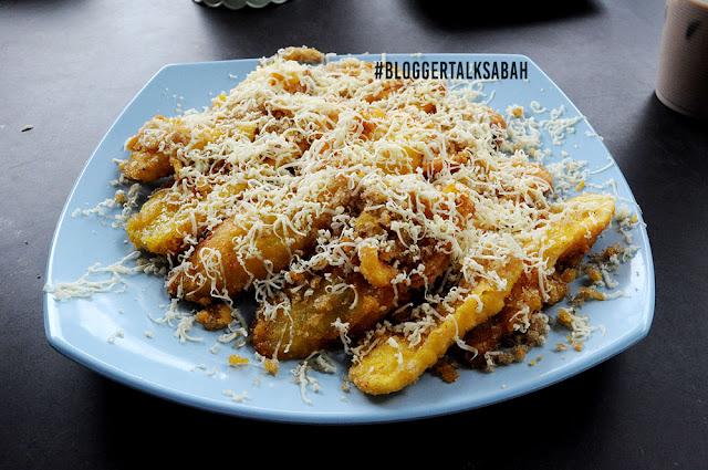 pisang cheese sabah, pisang cheese sedap, pisang cheese rangup, resepi pisang cheese