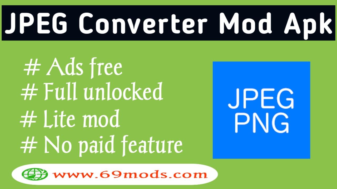 JPEG PNG Converter Premium Mod Apk