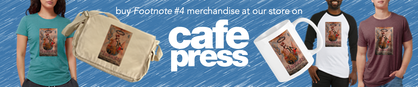 Buy Footnote 4 merchandise at Cafe Press