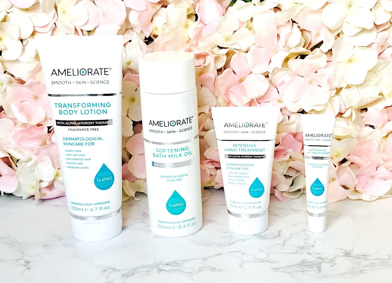 Want super soft limbs and lips? Ameliorate is the brand you need to know about