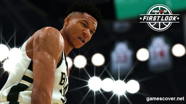 Giannis NBA 2K19 Standard Edition Cover Star